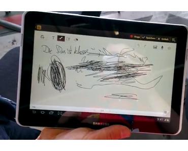 Samsung Galaxy Tab 2 10.1: S-Pen des Galaxy Note nutzen