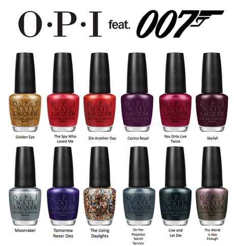 OPI Holiday Collection feat. James Bond