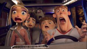 "Stop-Animation-Zombies in ""ParaNorman"""