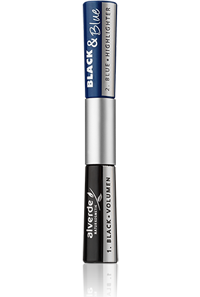 Mascara Black and Blue Highlighter