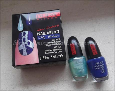 Pupa Nail Art Kit - City Safari