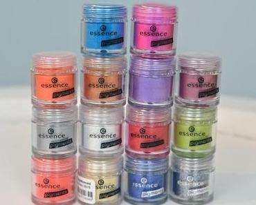 Essence Pigment Swatches