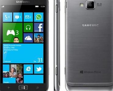 Windows 8 Phone von Samsung