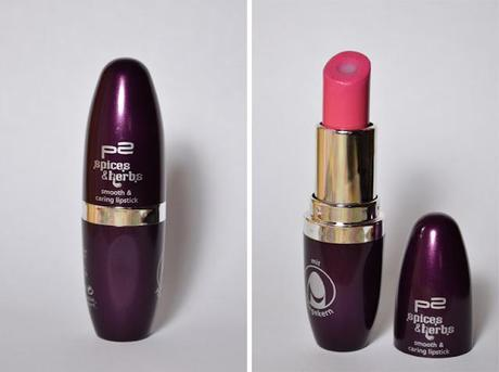 Review - P2 Spices & Herbs LE - Smooth And Carring Lipstick - 010  Raspberry