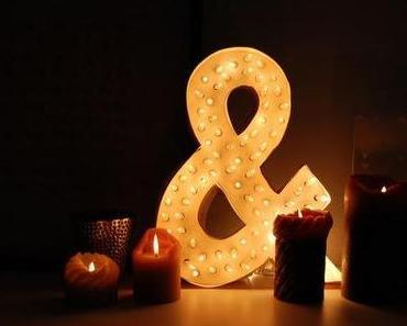"""DIY: """"&-Lampe"""" (Handgemachte Sache Nr 9)"""