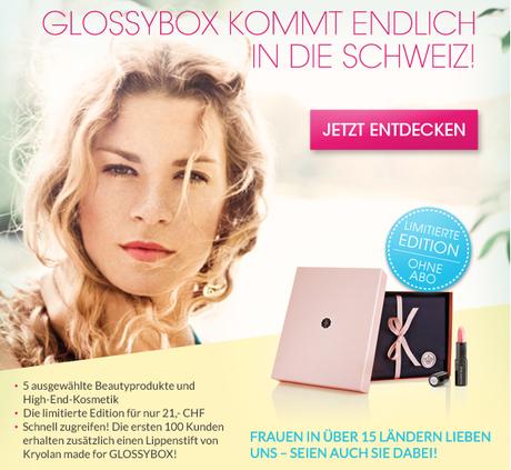 BeautyNews | GlossyBox Schweiz ist da!
