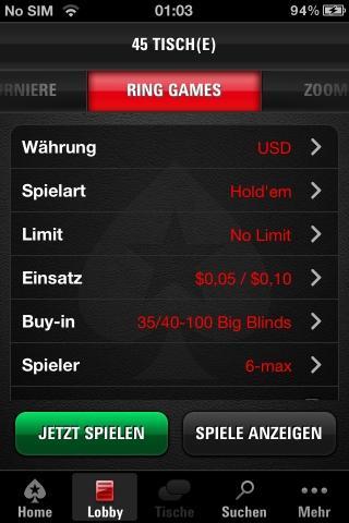 pokerstars mobile app echtgeld