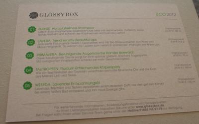 GlossyBox Eco