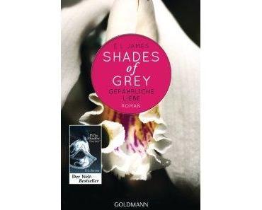 Rezension: Shades of Grey- Gefährliche Liebe von E. L. James