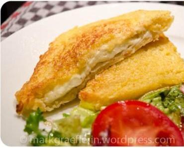 Italienische Barküche – Mozzarella in carrozza