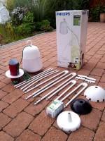 Flexible Design Gartenleuchte für den Garten
