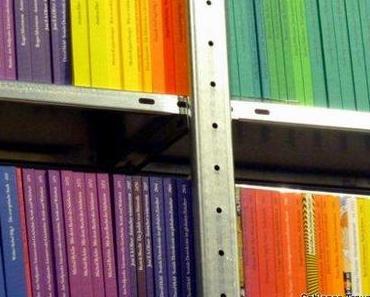 Suhrkamp Taschenbücher in allen Farben