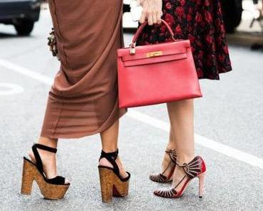Street Style bei der NY Fashion Week