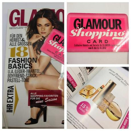 Glamour Shopping Week ♥ 06.-13. Oktober 2012