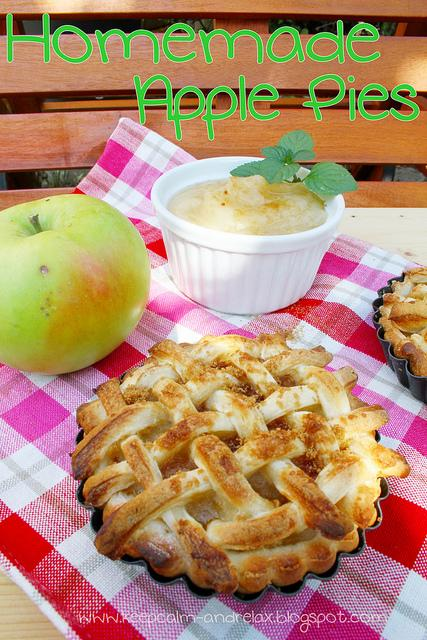 Homemade Apple Pies