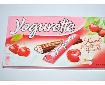 Yogurette Kirsche & ein Hauch Vanille