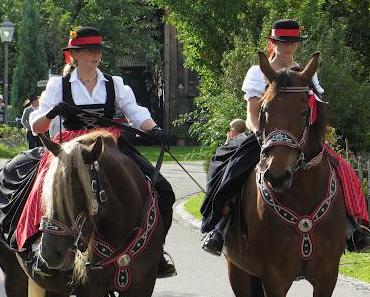 Viehscheid 2012 in Buching, Gemeinde Halblech (Ostallgäu)