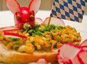 Oktoberfest: Bayrische Brotzeit Rettich Obatzter