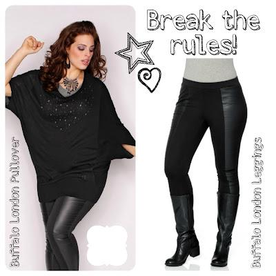 Sheego Blogger Aktion - Mein Beitrag: BREAK THE RULES, THINK BIG!