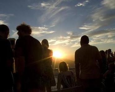 Sonnenuntergang am Zuckerhut
