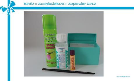 Battle :: GLOSSYBOX vs. ScrapbellaBox :: September 2012