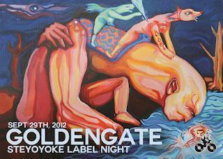 2x2 Gästelistenplätze für Steyoyoke Label Night at Golden Gate, 29.09.2012