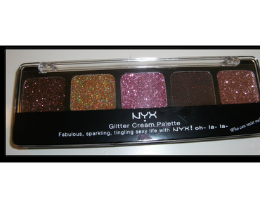 NYX Glitter Cream-Palette GCP09 Sweet Chocolate Browns