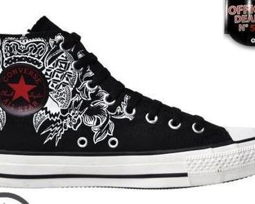 #Converse Chucks Hi 111123 Adler + Blitz Limited Edition Schwarz
