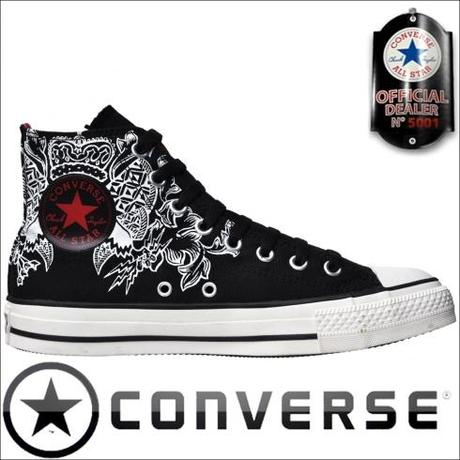 Converse Chucks Hi 111123 Limited Edition Schwarz