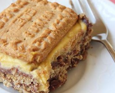 Schnelle Torte aus Kekse und Pudding