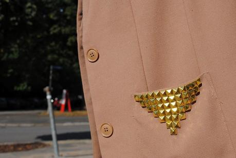 studded Jacket + vagabond dee = LOVE