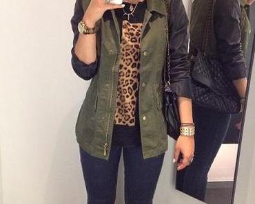 Leo, Leather, Khaki