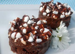 Fudgy Chocolate Marshmallow Brownies