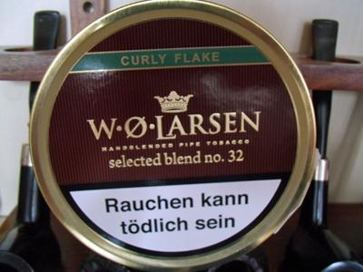 larsen32 W.Ø. Larsen Selected Blend No. 32 curly flake