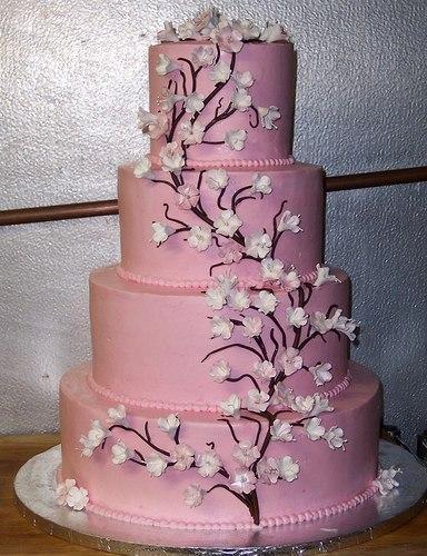 Свадебные торты из сливок фото 15