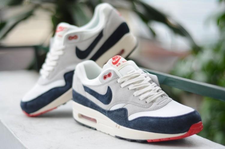 Nike Air Max Rot Blau Weiß