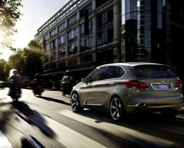 BMW Concept Active Tourer in Paris