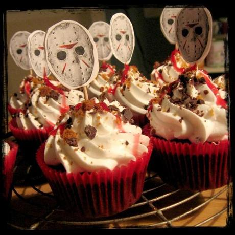 Friday 13th Slasher Cupcakes