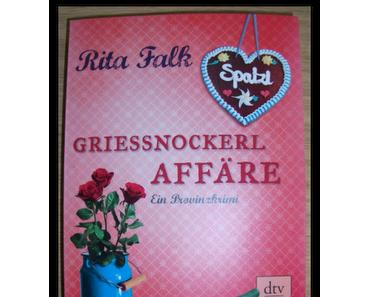 [Rezension] Griessnockerlaffäre von Rita Falk