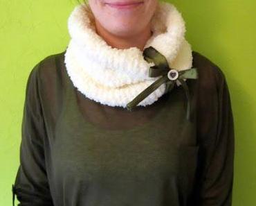 DIY: Wie man einen Loop- Schal strickt