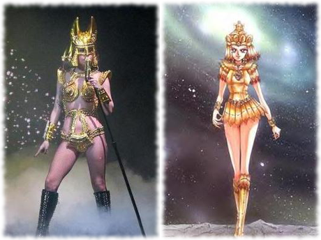 Beware of the Golden Queen ~ Galaxia lookalike