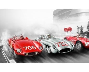 Sonderausstellung im Mercedes-Benz Museum: Mille Miglia – Leidenschaft und Rivalität