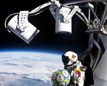 Felix Baumgartner findet den Ball von Ramos!