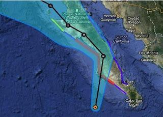 Hurrikan PAUL Baja California, Mexiko: Baldiger Landfall wahrscheinlich