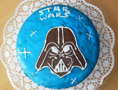 Star Wars Kuchen - Darth Vader