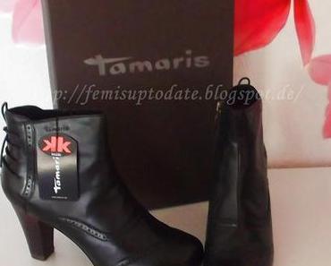 Femi's neue Tamaris Stiefeletten