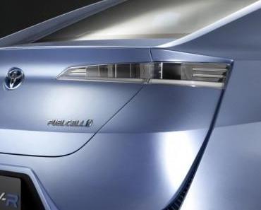 Toyota gibt Fortschritte bei Umwelttechnologien bekannt