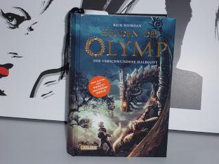 """Rezension: """"Helden des Olymp, Band 1: Der verschwundene Halbgott"""" von Rick Riordan"""