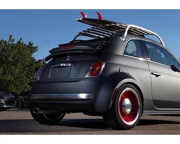 Fiat 500 C wird ein Beach Cruiser