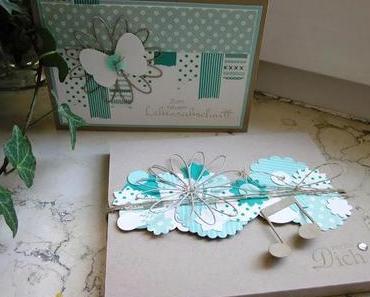Masking-Tape-Geburtstagskarte und CD-Verpackung